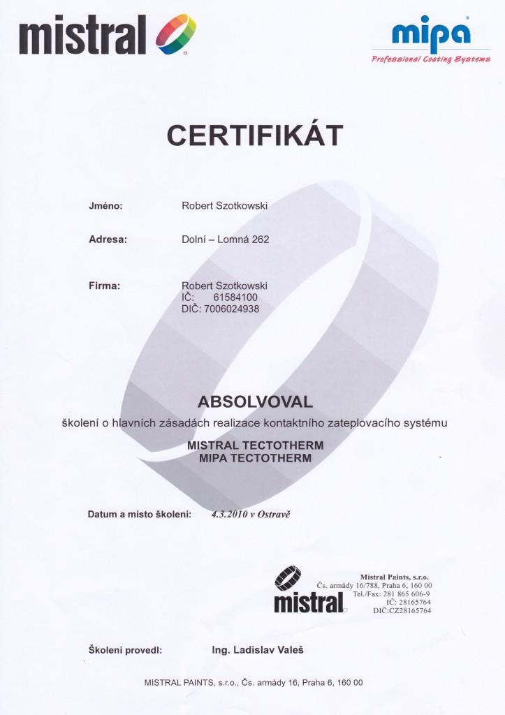 certifikat-mistral